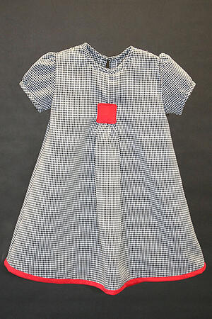 Gingham Girls Dress
