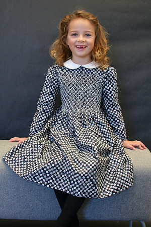 Hand Smocked Girls Dress