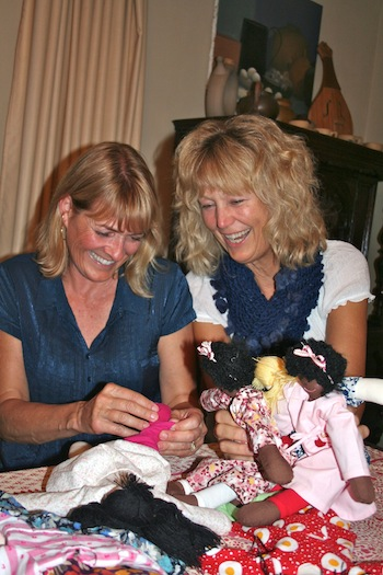 Friends with Dolls