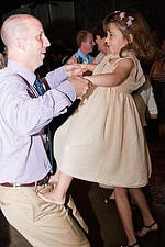 Wedding, Flower Girl, Dancing