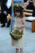 Wedding Aisle, Flower Girl, Ceremony