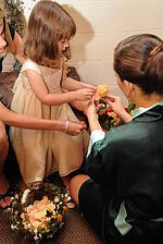 Flower Girl, Bride, Wedding
