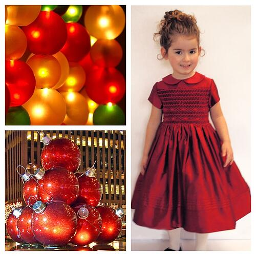 Red Girls Holiday Dress