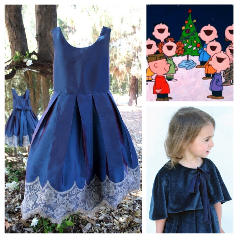 Caroling Girls Holiday Dress