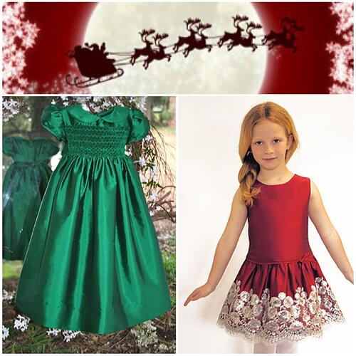 Girls Holiday Party Dress