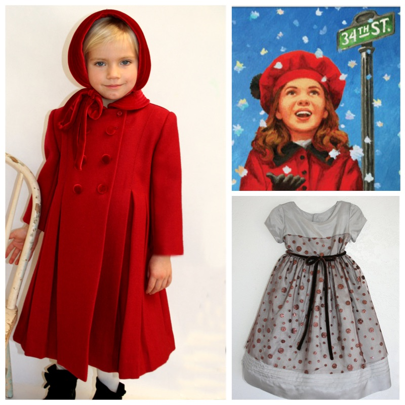 Mircale on 34th Street Holiday Dress Coat