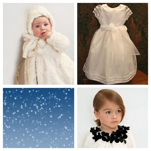 Snow Holiday Dress