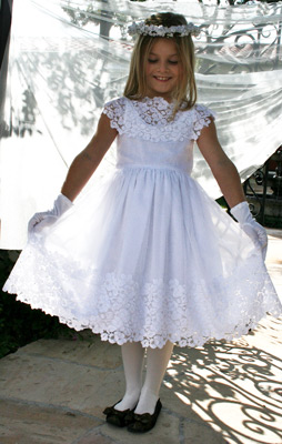 Vintage Communion Dress