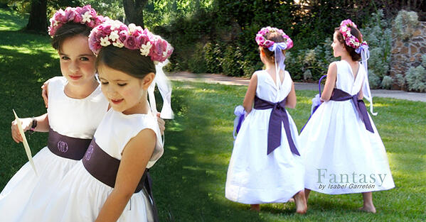 Custom Flower Girl Fantasy Dress