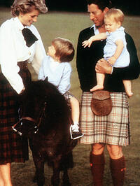 Diana, Charles, Prince William, Prince Harry