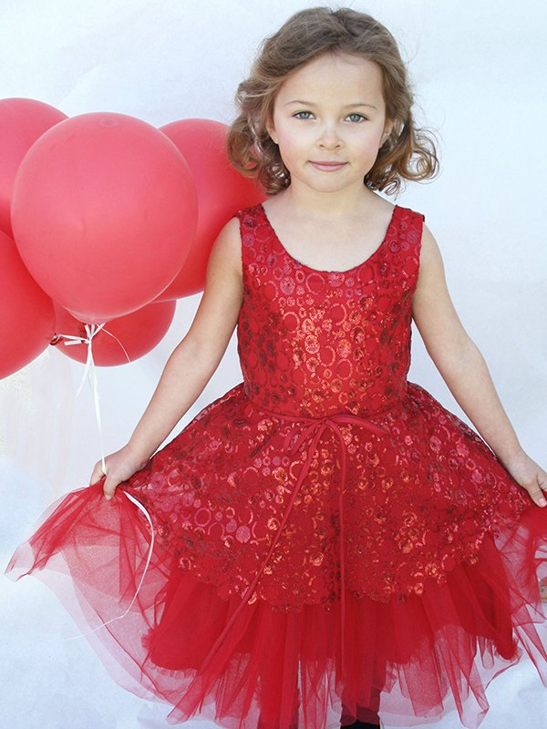 Christmas, Holiday, Fancy Girls Dresses