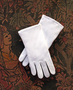 Girls Communion Gloves