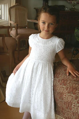 Gala Lace Communion Dress