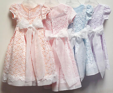 Big Bow Flower Girl Dresses