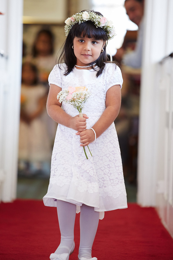 Custom Blossom Flower Girl Dress