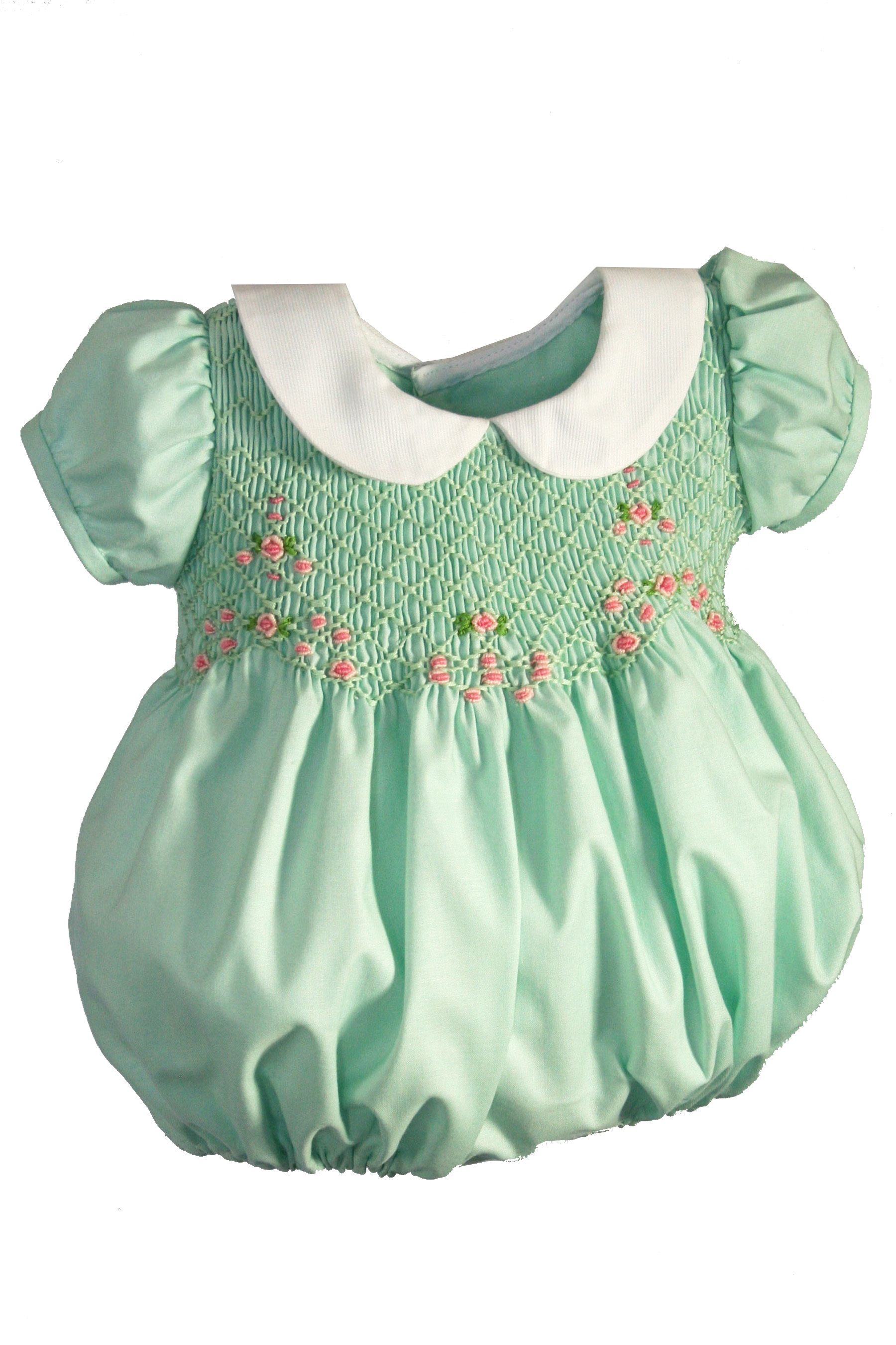 Smocked Easter Baby Bubble
