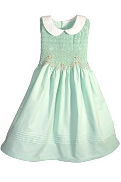 Smocked Easter Dress