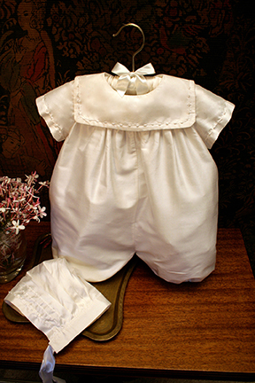 Charming Boys Christening Gown