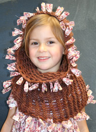 ItsATwist, Children, Knit, scarf, accessory